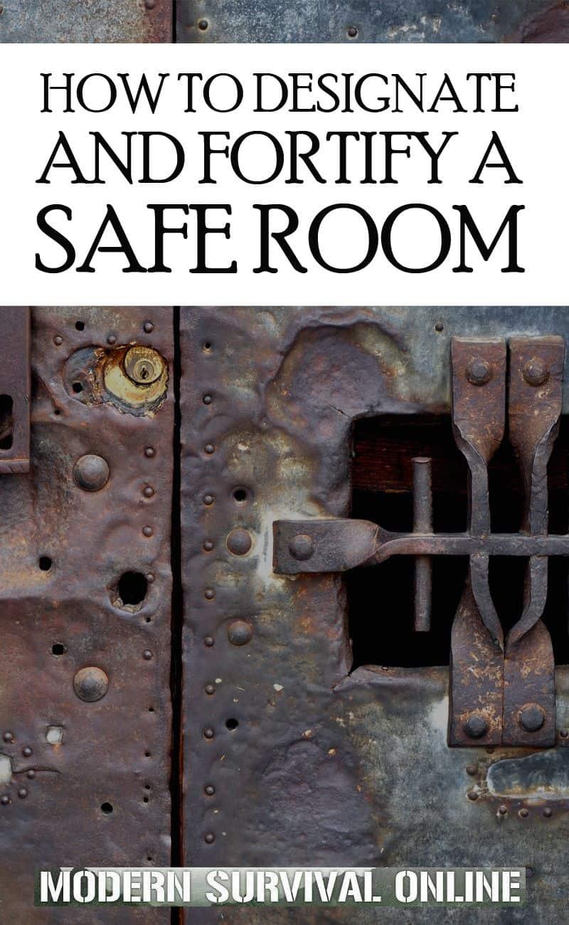 safe rooms Pinterest image