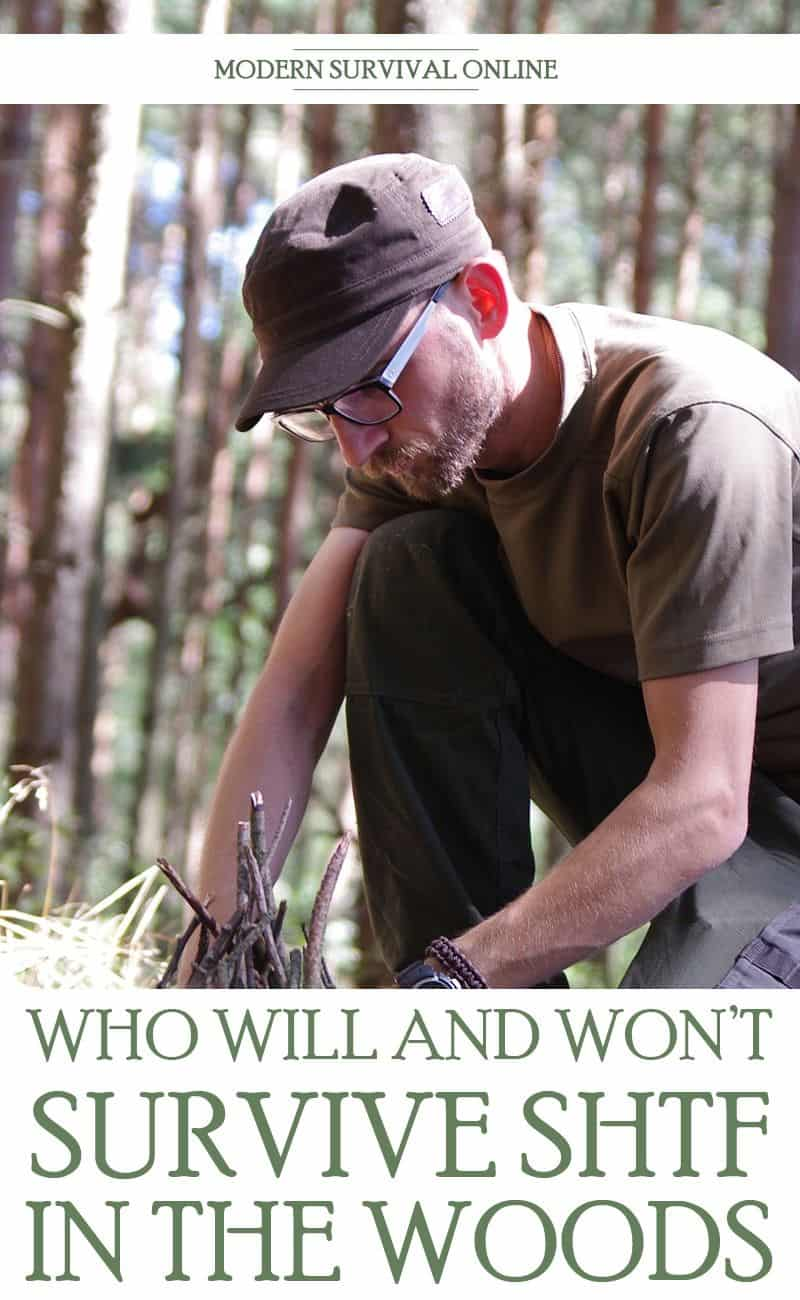 who will survive the woods pinterest