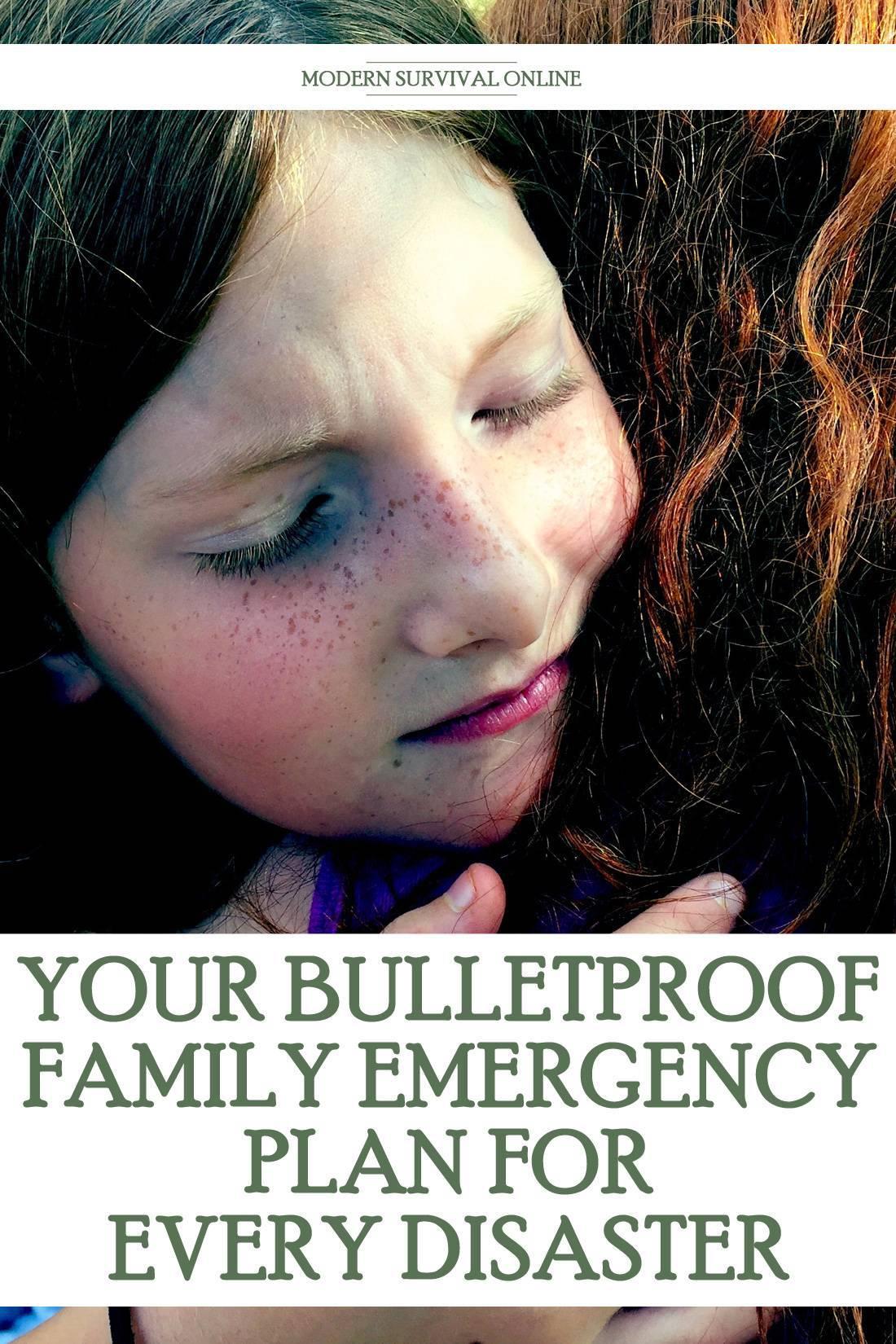 family emergency plan pinterest