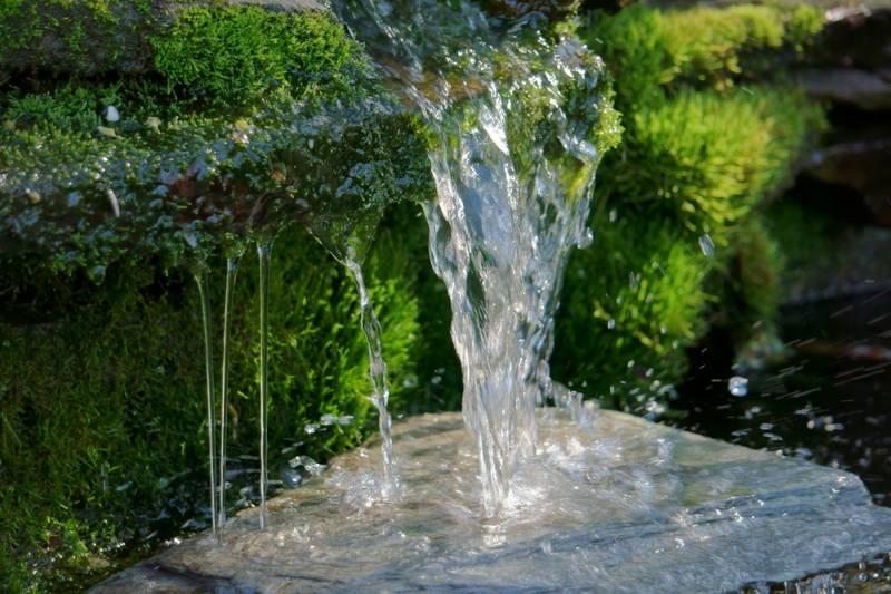 close-shot-homemade-waterfall-small-backyard   Ways to Get Clean Water