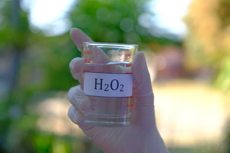 hydrogen-peroxide-solution-beaker   Ways to Get Water
