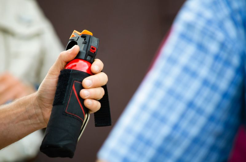 Bear spray | How to keep bears away from campsite