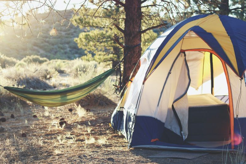 Camping relaxing afternoon | Camping Cots