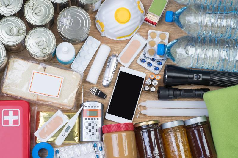 Objects useful in emergency situations such as natural disasters-Disaster Survival Kits