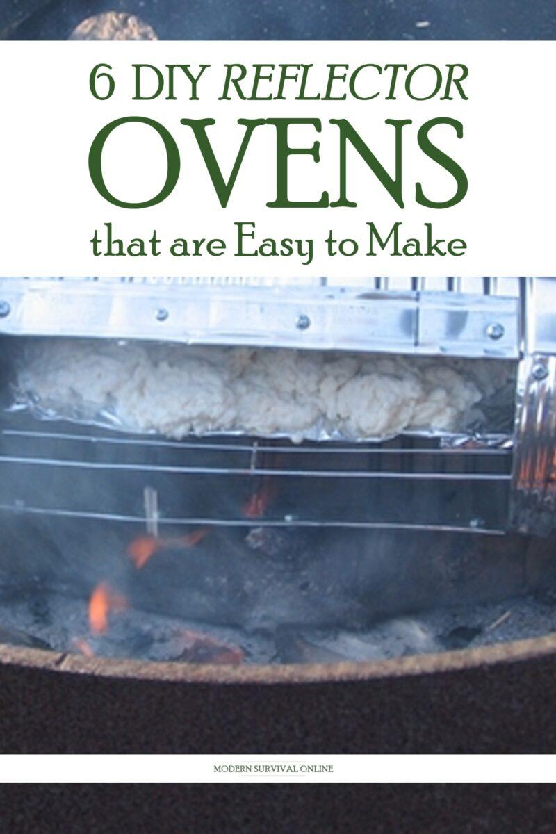 DIY reflector ovens pin image